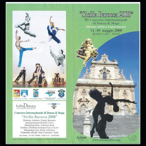 Concorso Internazionale Danza Sicilia Barocca | Edizione 2008