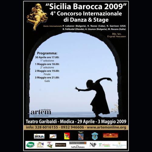 Concorso Internazionale Danza Sicilia Barocca | Edizione 2009