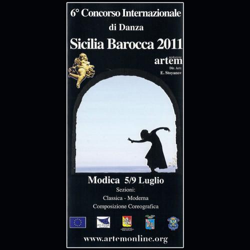 Concorso Internazionale Danza Sicilia Barocca | Edizione 2011