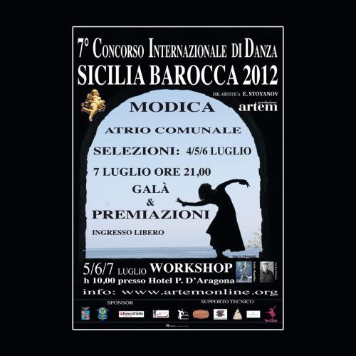 Concorso Internazionale Danza Sicilia Barocca | Edizione 2012