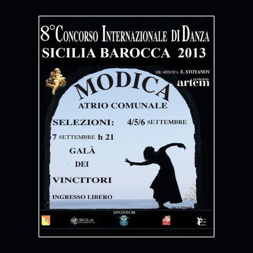 Concorso Internazionale Danza Sicilia Barocca | Edizione 2013