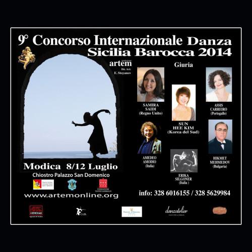 Concorso Internazionale Danza Sicilia Barocca | Edizione 2014