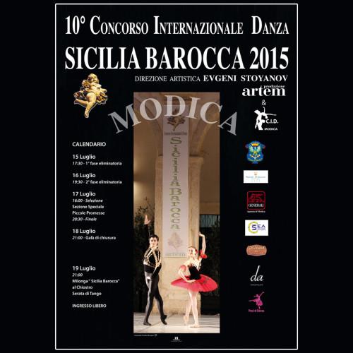 Concorso Internazionale Danza Sicilia Barocca | Edizione 2015