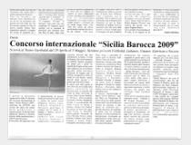 Sicilia Barocca 2009