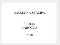 Sicilia Barocca 2010